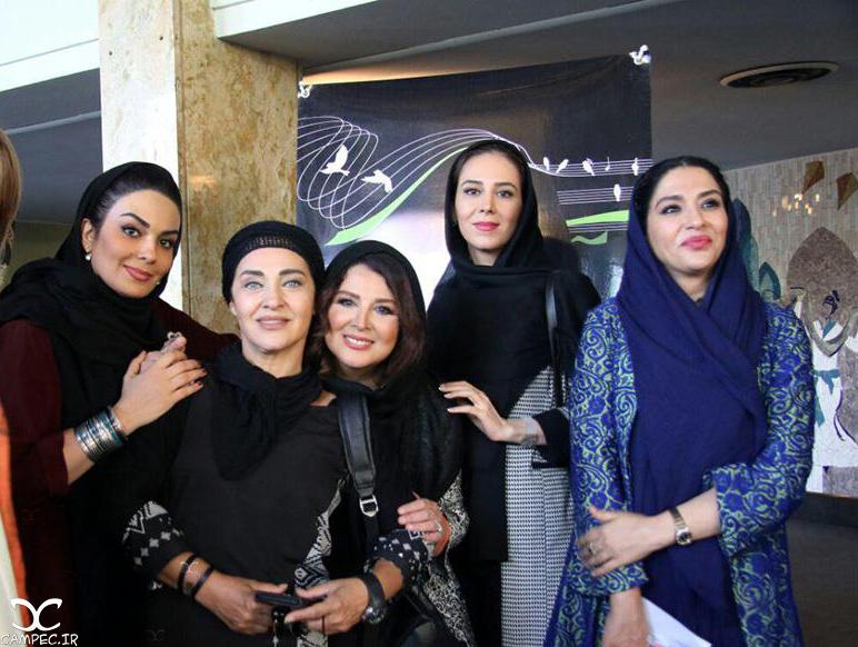 جمعی از بازیگران زن