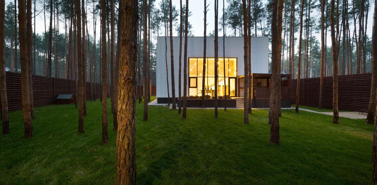 خانه مکعبی در جنگل1