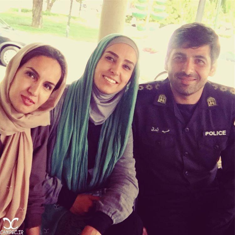 حمید گودرزی و سوگل طهماسبی در سریال گشت ویژه