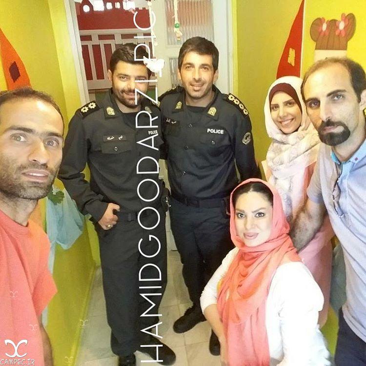 حمید گودرزی و شاهد احمدلو در سریال گشت ویژه