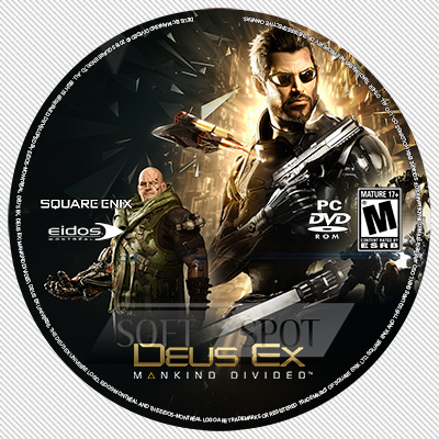 لیبل دیسک Deus Ex: Mankind Divided