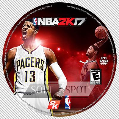 لیبل دیسک NBA 2K17