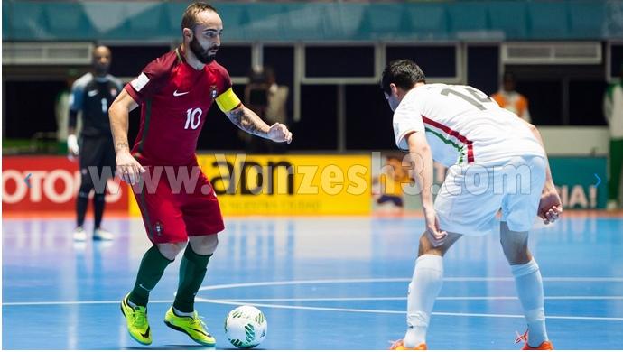 نتیجه فوتسال ایران و پرتغال 10 مهر 95 | خلاصه و گلهای بازی ردهبندی