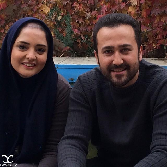زهیر یاری و نرگس محمدی
