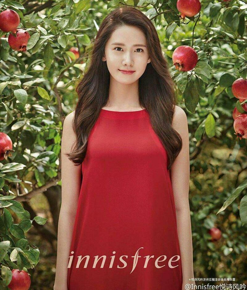 تک عکس جدید از یونا برای مجله ی Innisfree