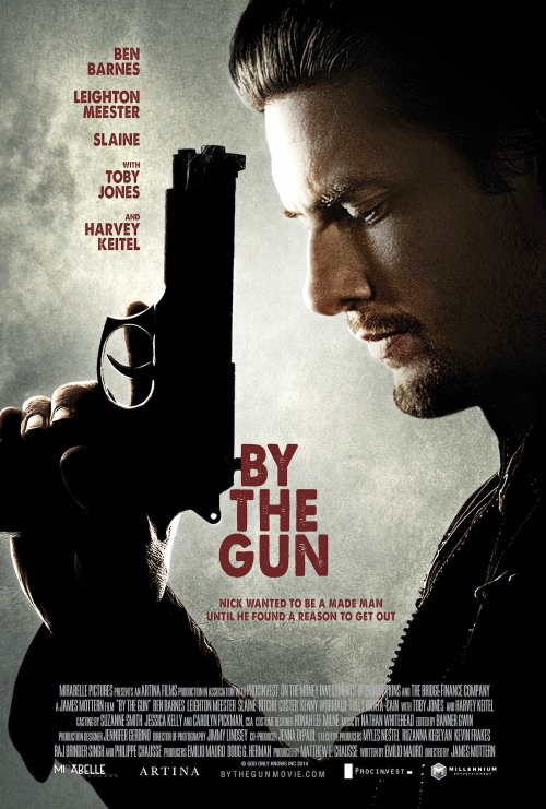 دانلود فیلم سوگند مرگبار با دوبله فارسی By the Gun 2014