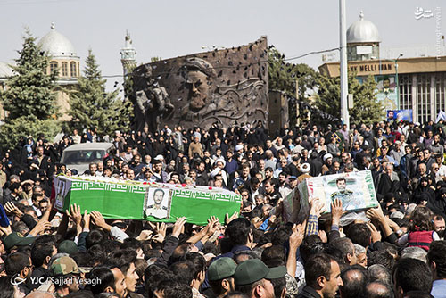 شهید مدافع حرم محمدرضا زارع الوانی