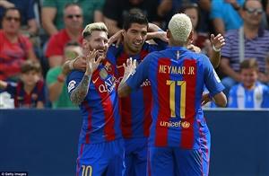 نتیجه بازی بارسلونا و سلتاویگو 11 مهر 95 خلاصه و گلها دیشب