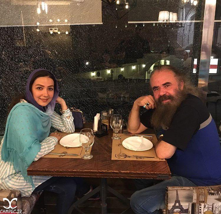 سارا صوفیانی و همسرش امیر حسین شریفی
