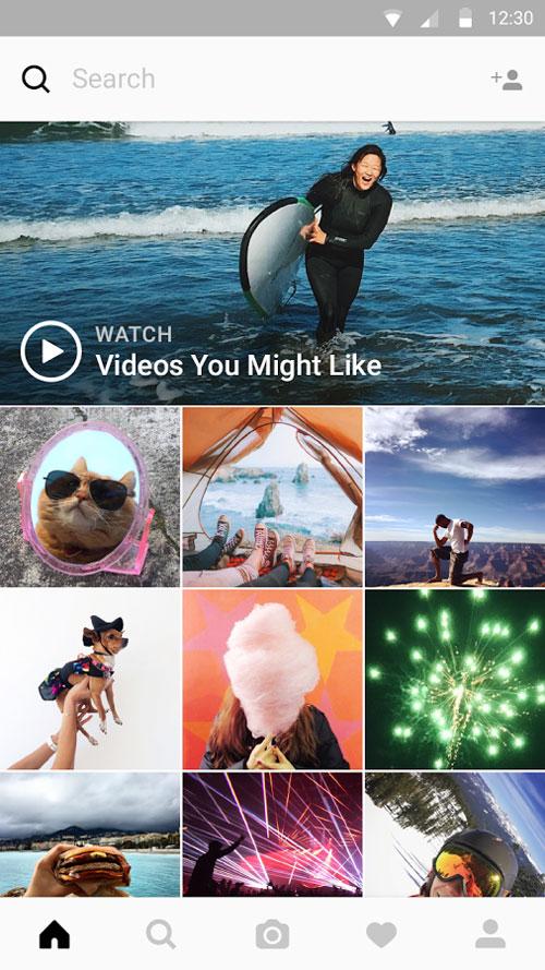 Downloading Instagram 9.5.5 نسخه ی جدید اینستاگرام