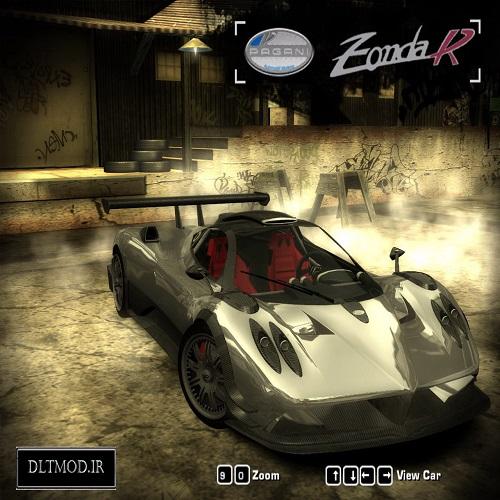 دانلود مد ماشین Pagani Zonda R برای NFS 2005