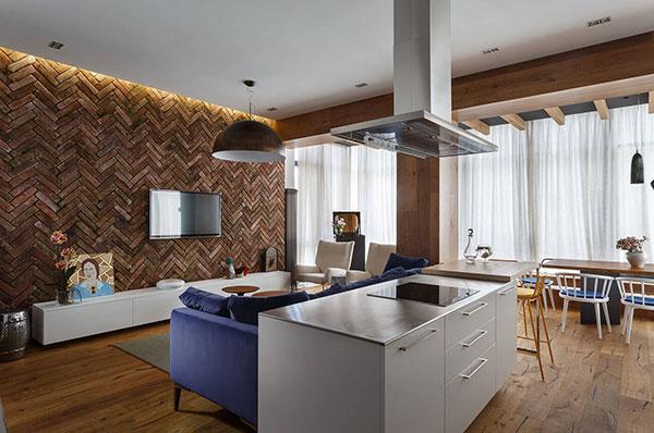 ایده های خلاقانه برای طراحی آپارتمان