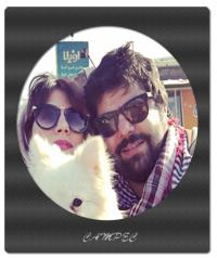 بیوگرافی و عکسهای شاهد احمدلو با همسرش