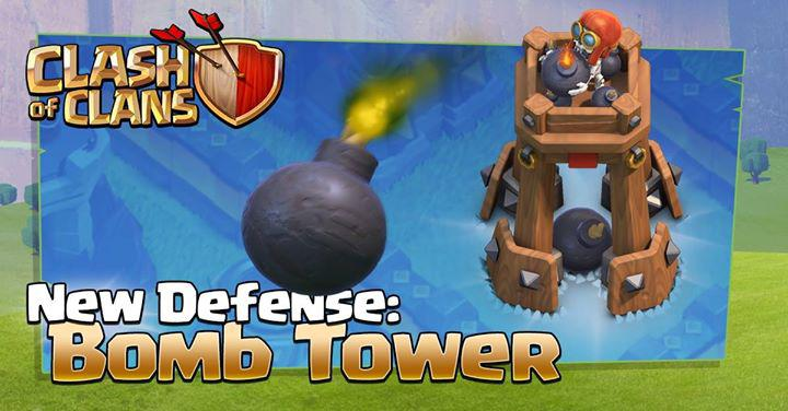 ساختمان دفاعی جدید Bomb Tower