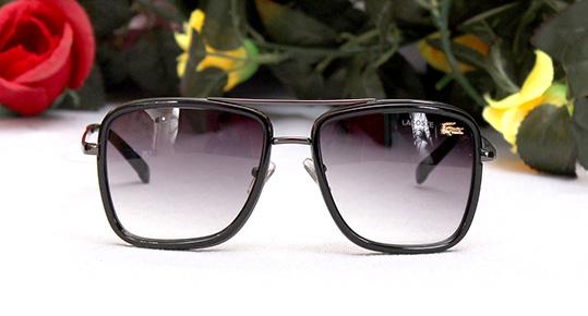 فروش عینک لاگوست فریم مشکی