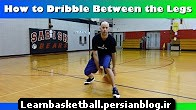how to dribble between the legs crossover tutorial - basic basketball moves for beginners