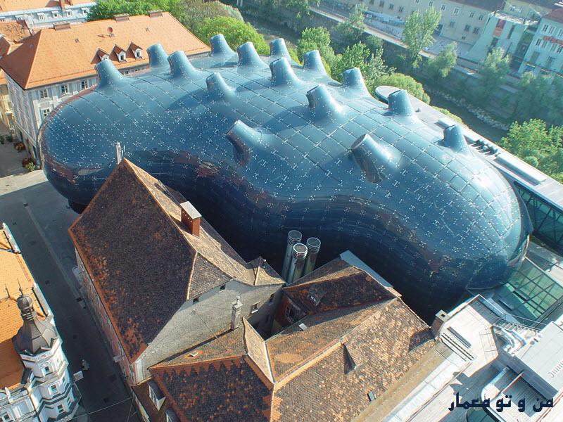 دانلود مقاله بررسی معماری ارگانیک بیونیک پایدار