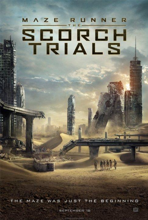 دانلود فیلم دوبله فارسی دونده هزار تو 2 - Maze Runner The Scorch Trials 2015