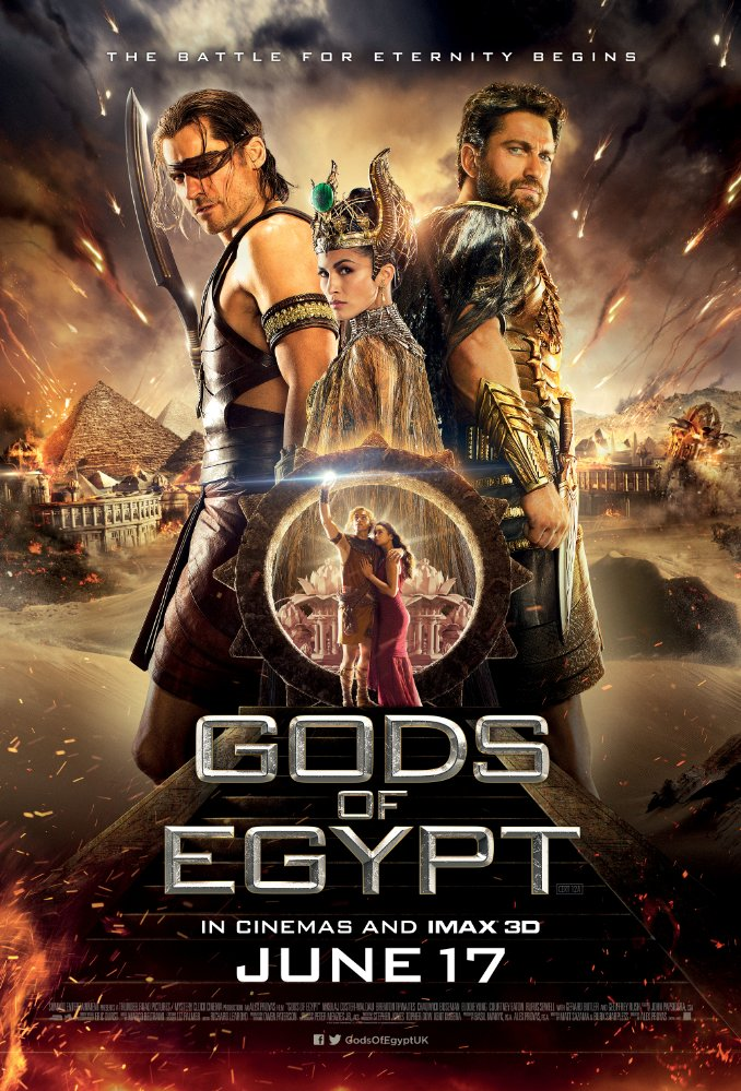دانلود فیلم خدایان مصر با دوبله فارسی Gods of Egypt 2016