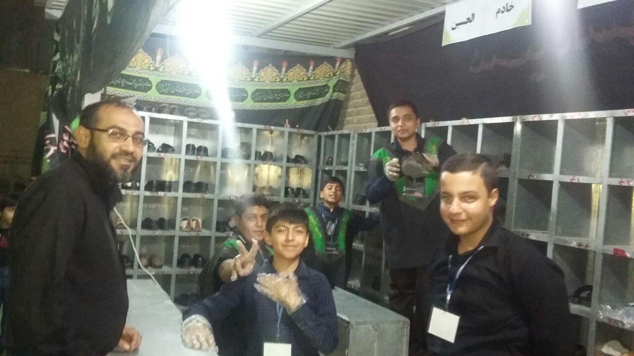 حضور فعال اعضای کانون فرهنگی شهید برزگران در هیات محبیان اهل بیت علیه السلام