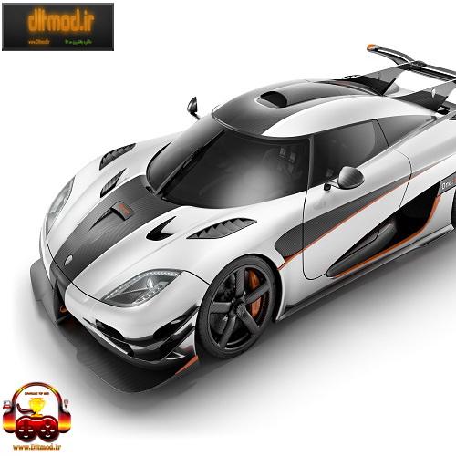 دانلود مد ماشین Koenigsegg One برای gta iv
