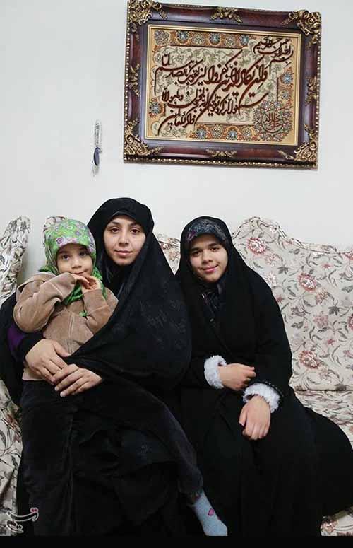 خانواده شهید عبدالله باقری نیارکی