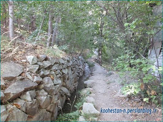 مسیر فرود قله الله بند کوچک