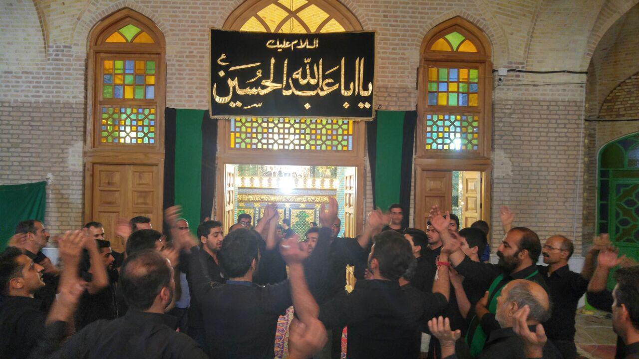 مراسم شام غریبان امام حسین (علیه السلام) در امامزاده سیدکافی