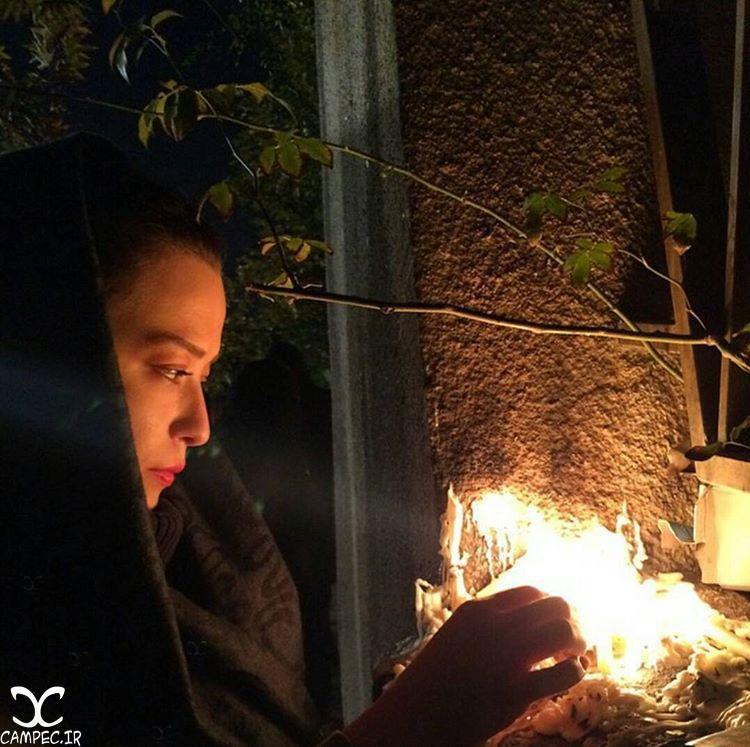 مهراوه شریفی نیا در شب شام غریبان امام حسین