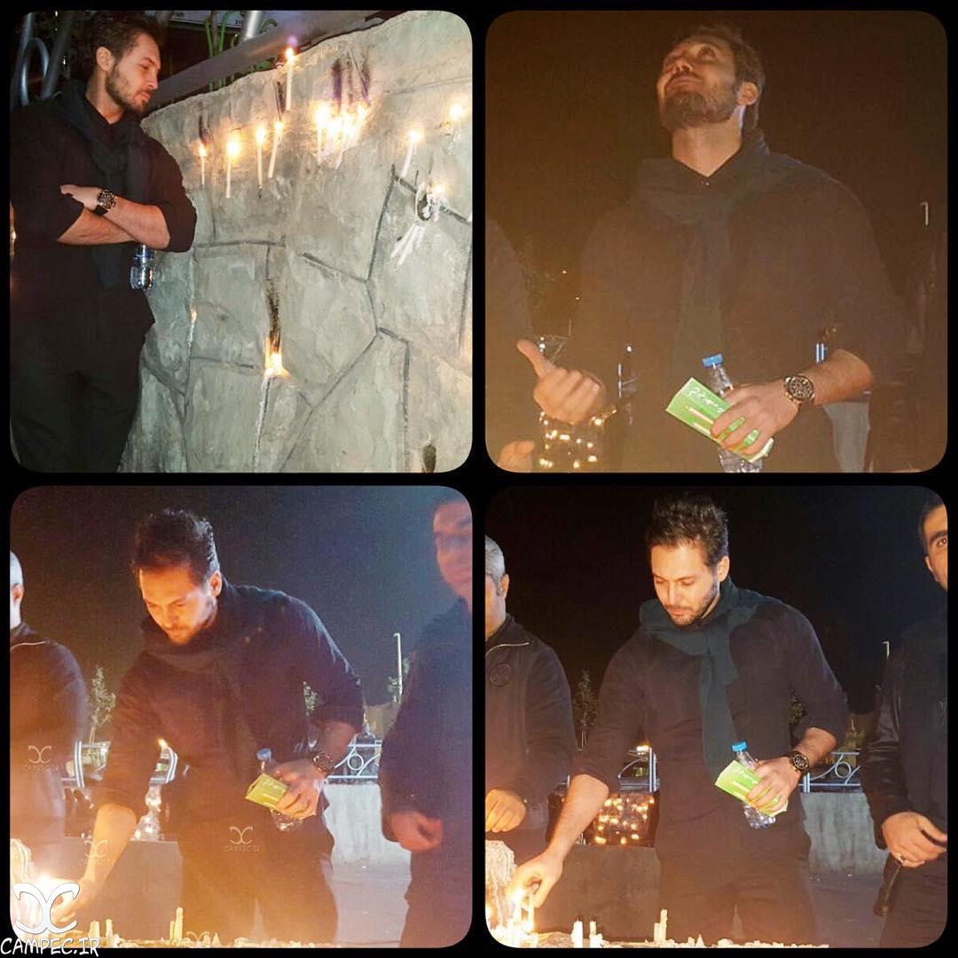 دانیال عبادی در شب شام غریبان امام حسین