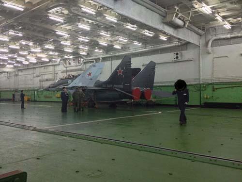 ناو هواپیمابر روسی سوریه