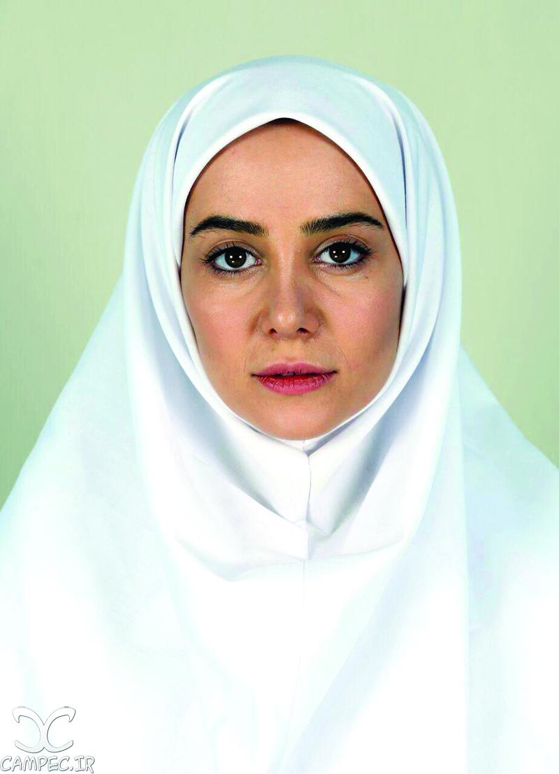 عکس تست گریم الناز حبیبی در سریال پرستاران