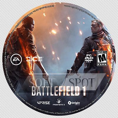 لیبل دیسک Battlefield 1