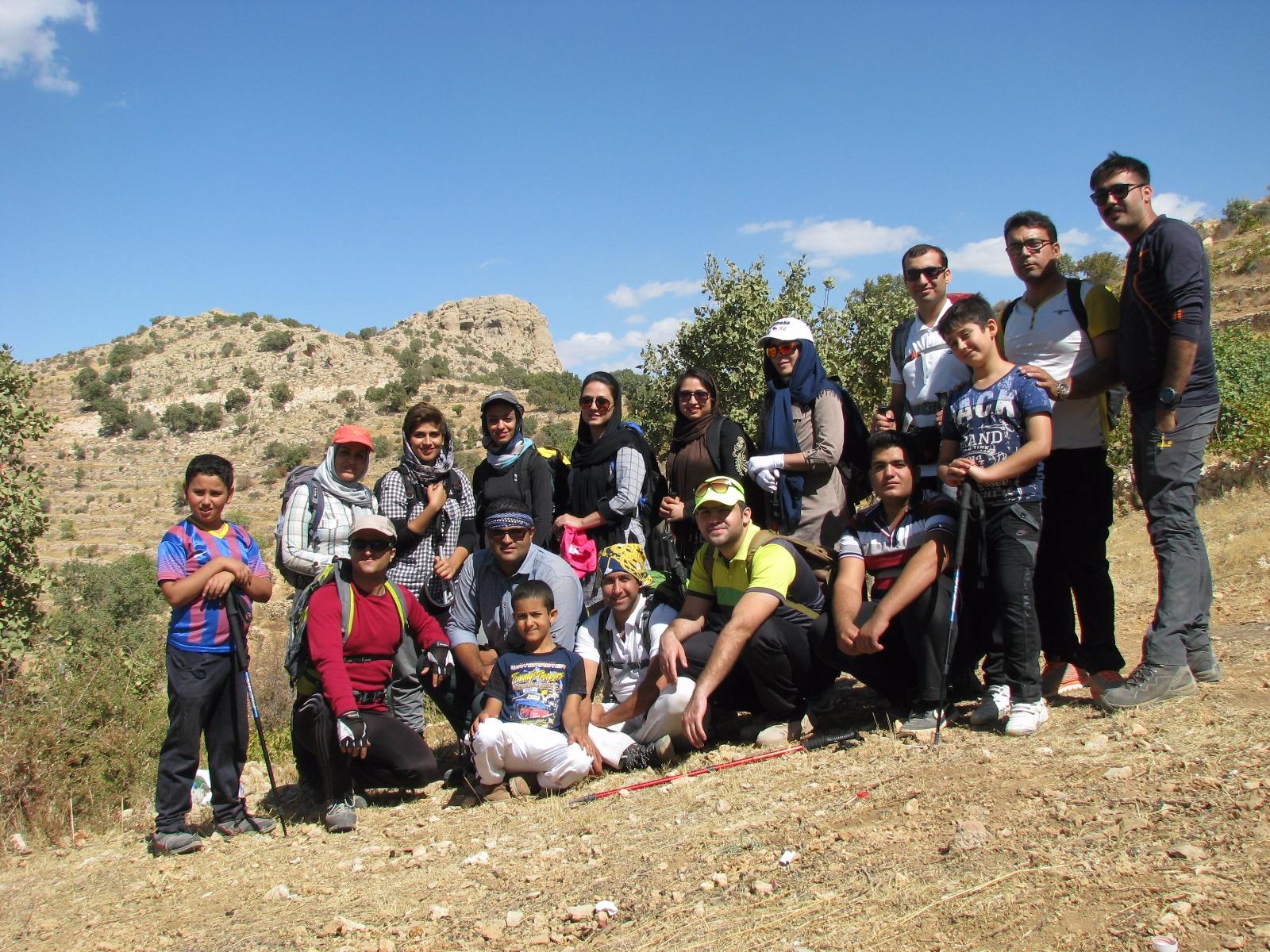 صعود به کوه دوان