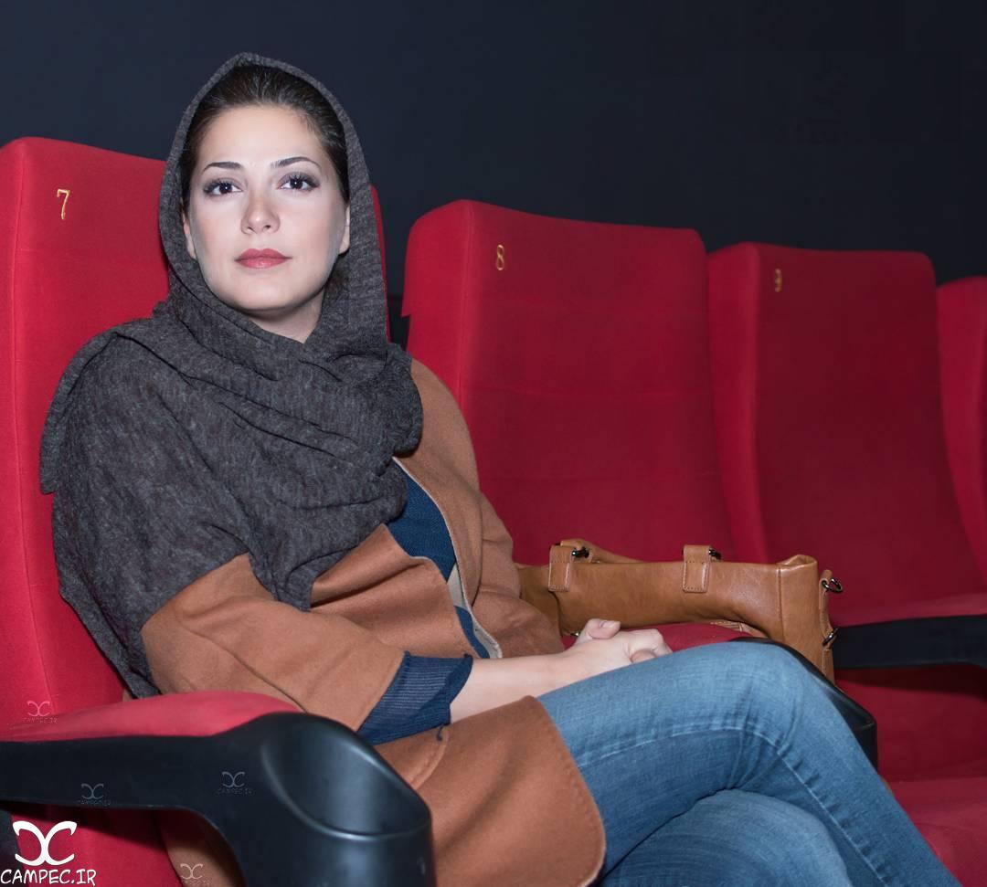 طناز طباطبایی در مراسم اکران فیلم اروند