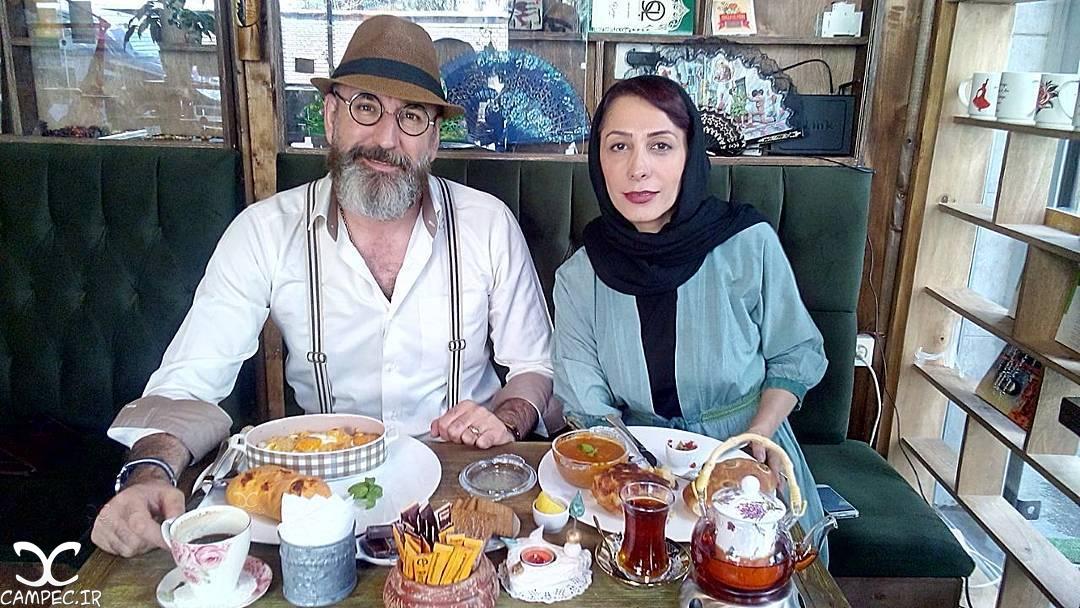[blocked]صالح میرزاآقایی و همسرش