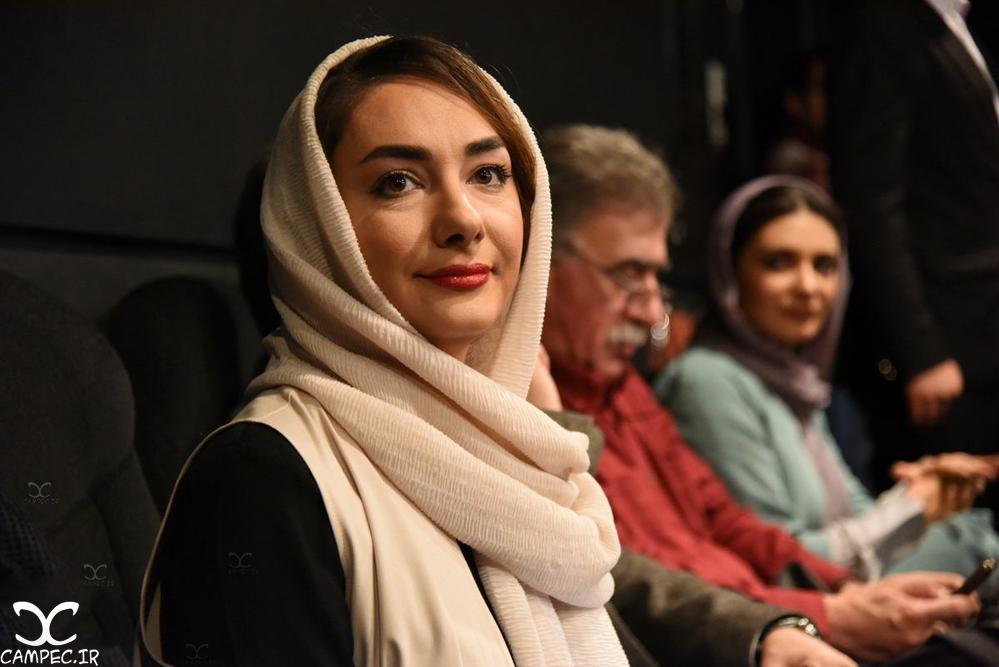 هانیه توسلی در اکران فیلم سیانور