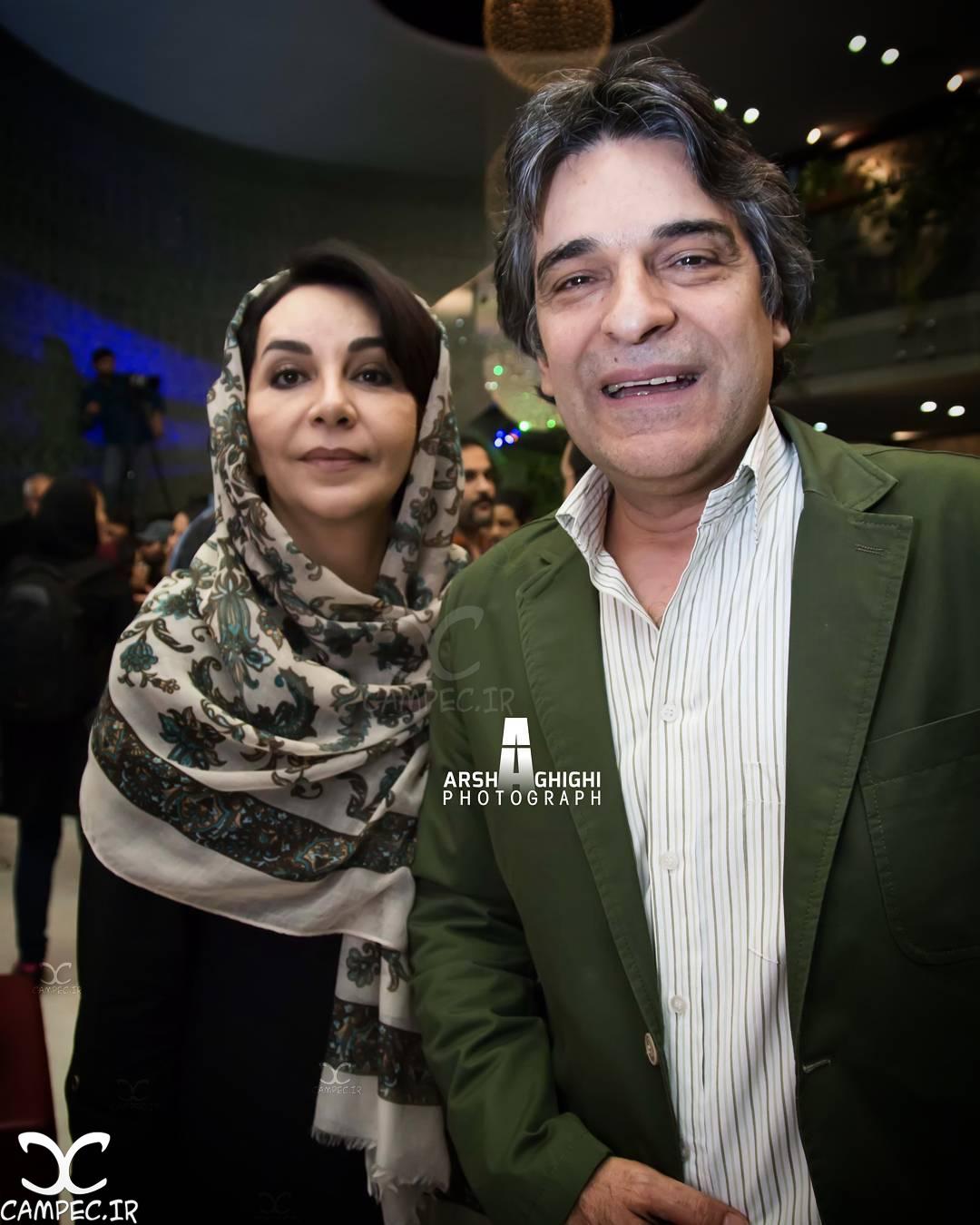 عکسها و بیوگرافی اردلان شجاع کاوه و همسرش الیزا اورامی