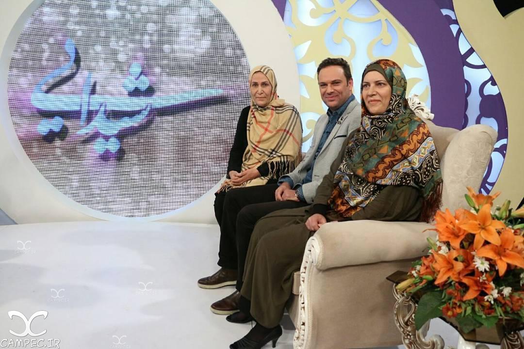 شهروز ابراهیمی با خواهر و مادرش