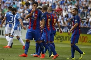 ساعت بازی بارسلونا و منچسترسیتی | پخش زنده 28 مهر 95 | فیلم و نتیجه