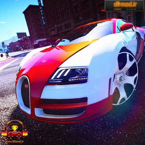 دانلود مد ماشین Bugatti Veyron برای GTA V
