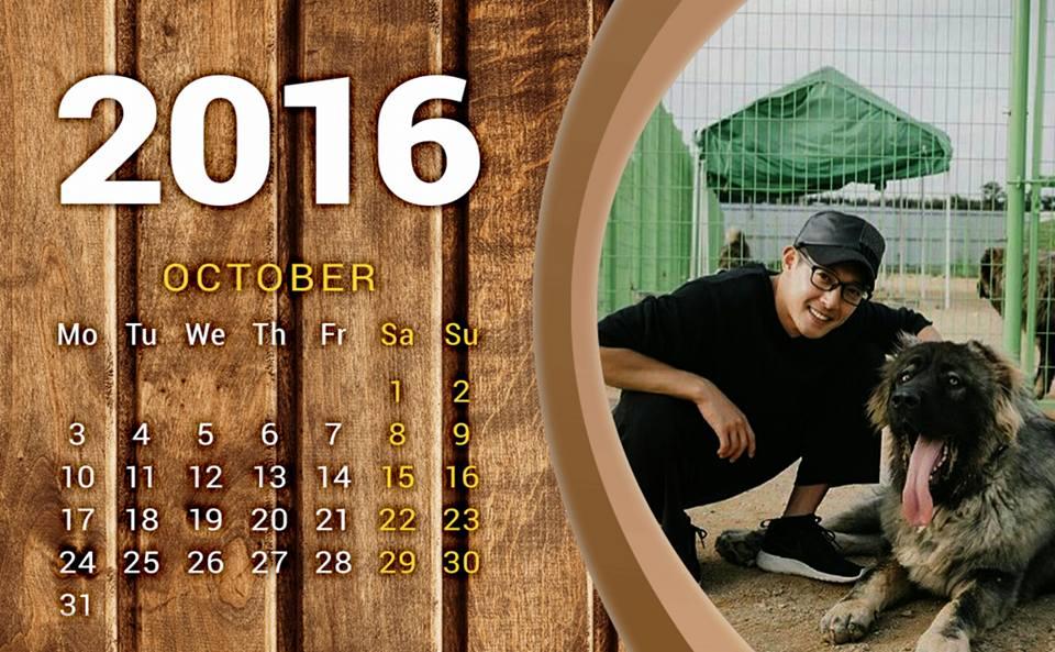 Fanart - Calendar of October 2016