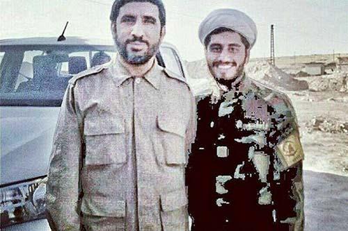 مهدی سلحشور و شهید سعید بیاضیزاده