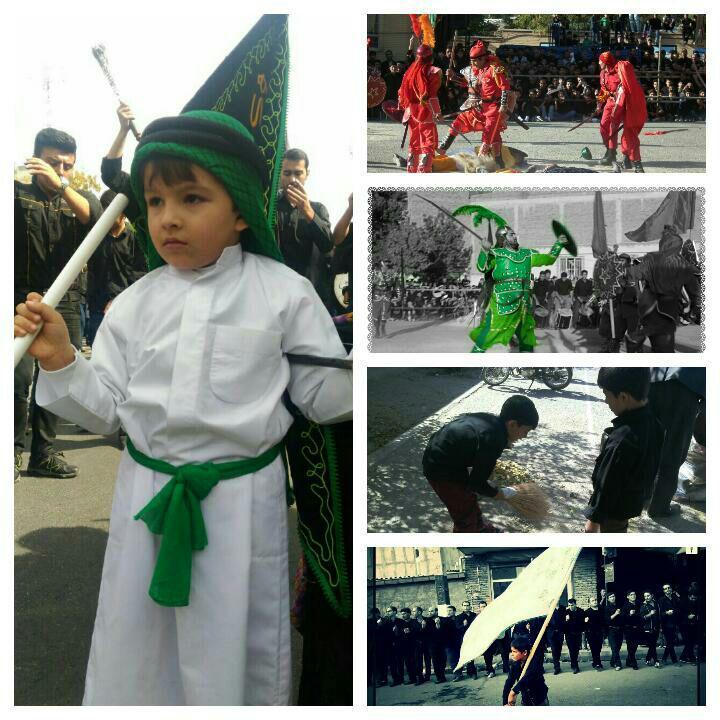 با برگزاری مراسمی از برندگان مسابقه عکس « کودکان قاضی جهان در محرم » تجلیل شد