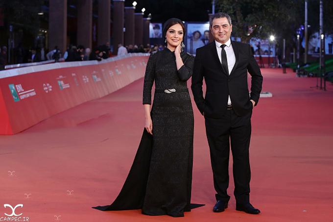 مارال فرجاد و اتابک نادری در جشنواره فیلم رم