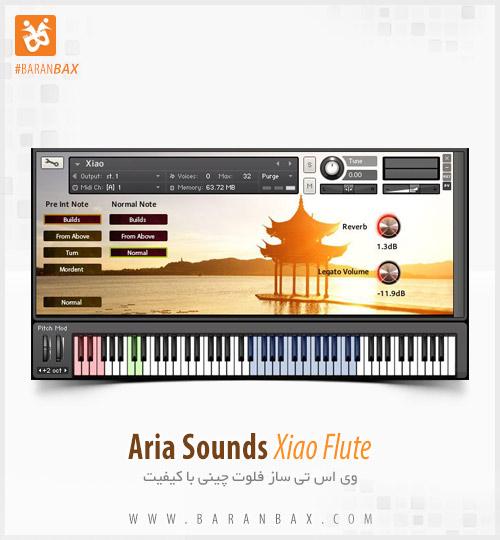 دانلود وی اس تی فلوت چینی Aria Sounds Xiao Flute