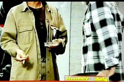 سیگار کشیدن محمدتقی فهیم کارشناس برنامه هفت ۳۰ مهر ۹۵+عکس و فیلم