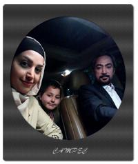عکسها و بیوگرافی محمد حاتمی با همسر و فرزندان