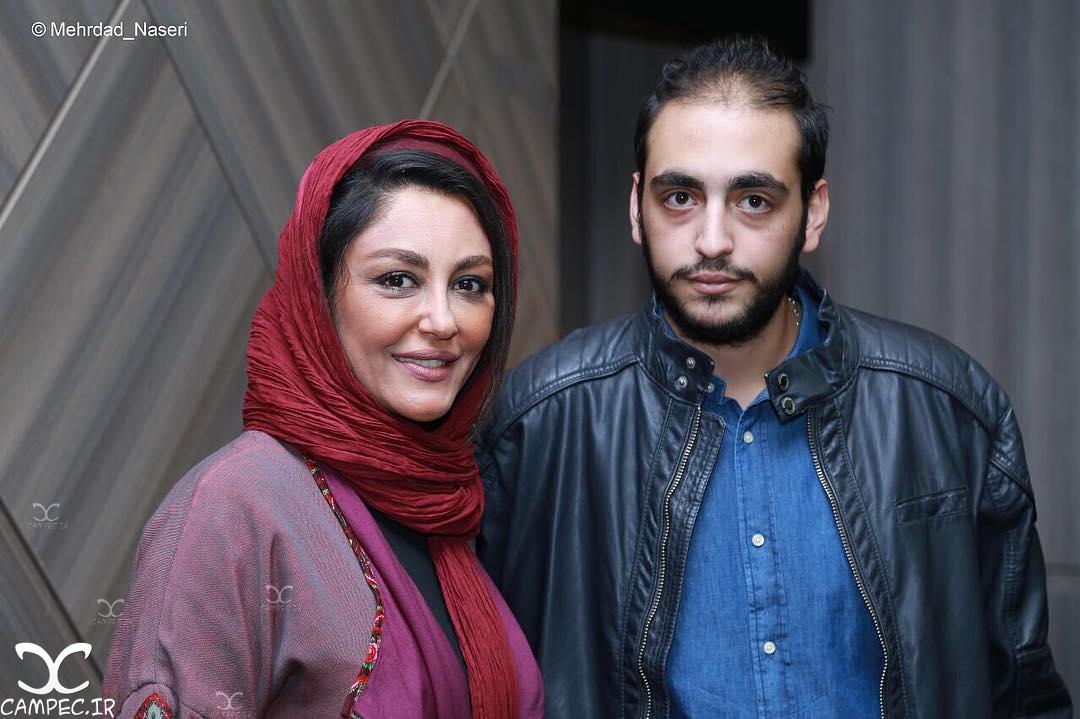 شقایق فراهانی و پسرش در اکران فیلم نیمه شب اتفاق افتاد