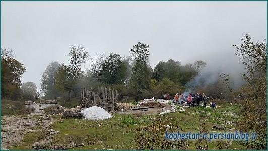 چشمه پرآو - ارفع کوه